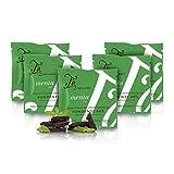 Tableta de Chocolate Negro 66% Cacao con Menta, Grand Cru Venezuela - 50 gr (Paquete de 5 Piezas)