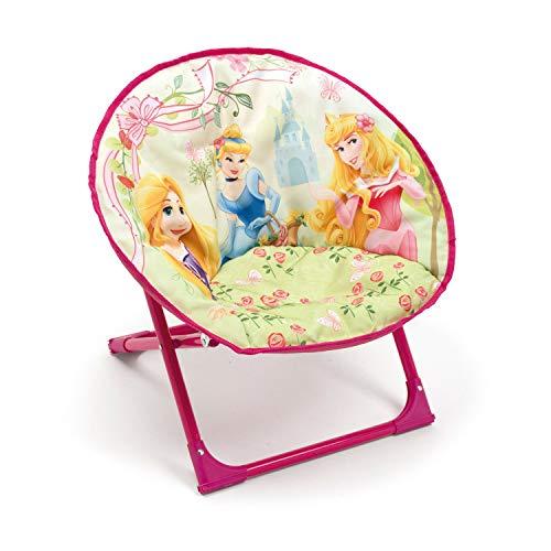 Arditex Runder Kindersessel Polyester 50x 50x 50cm Disney-Prinzessinnen Rose