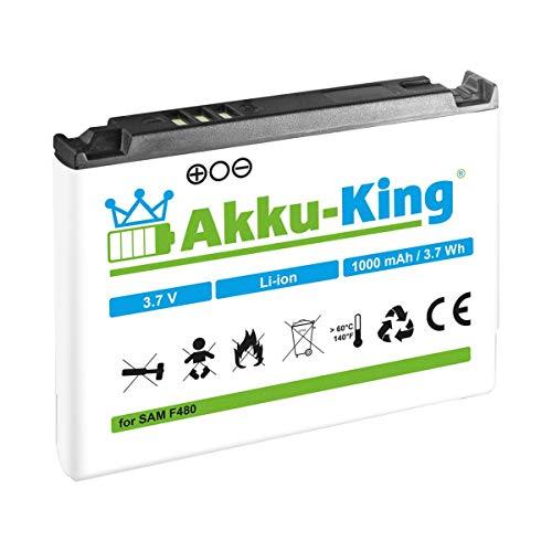 Akku-King Akku kompatibel mit Samsung AB553446B, AB553446CE, AB553446CC Li-Ion - für SGH-F480 F480i F480v F488 A767