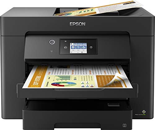Epson WorkForce WF-7830 All-in-One Wireless Colour Printer with Scanner, Copier, Fax, Ethernet,...