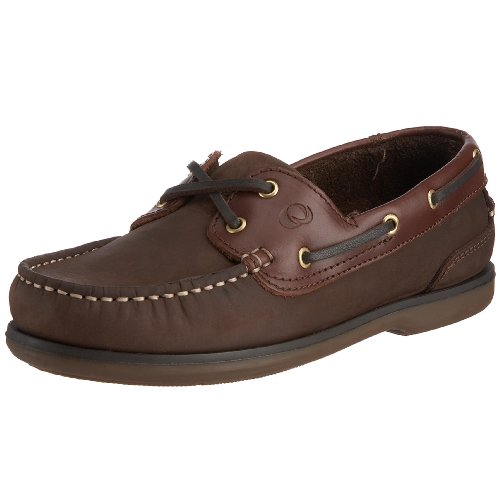 Quayside Clipper, Chaussures bateau homme - Marron...
