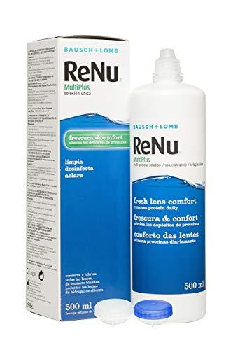 BAUSCH + LOMB - Renu® MultiPlus Solución de Mantenimiento - 500 ml