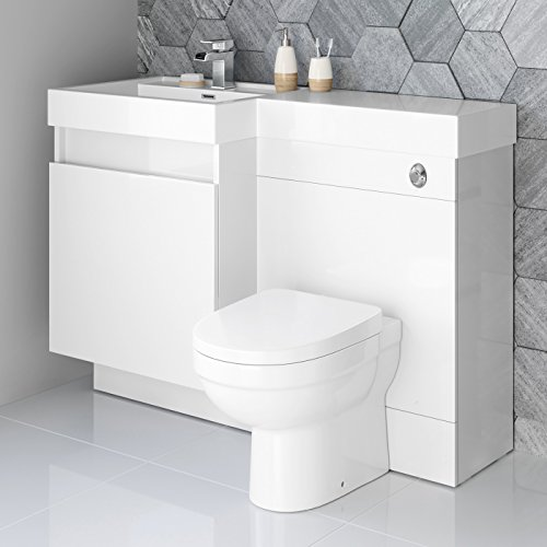 Where Can I Find 1200mm White Vanity Unit Modern Toilet Bathroom