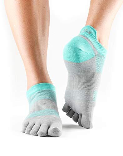 ToeSox Unisex's Sport Sock Lolo vijf teen, ijs, M