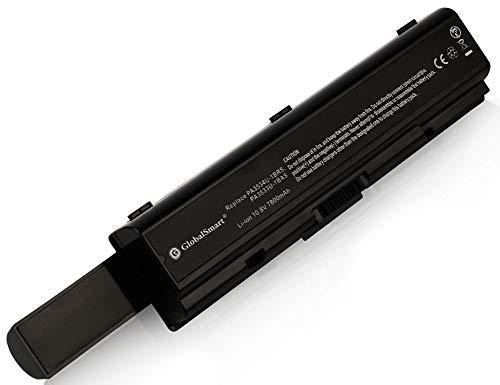 Globalsmart Batería para portátil Alta Capacidad para Toshiba PA3534U-1BRS 9 Celdas Negro