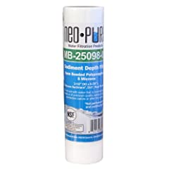 Long filter life 100% pure polypropylene Exceptional dirt-holding capacity