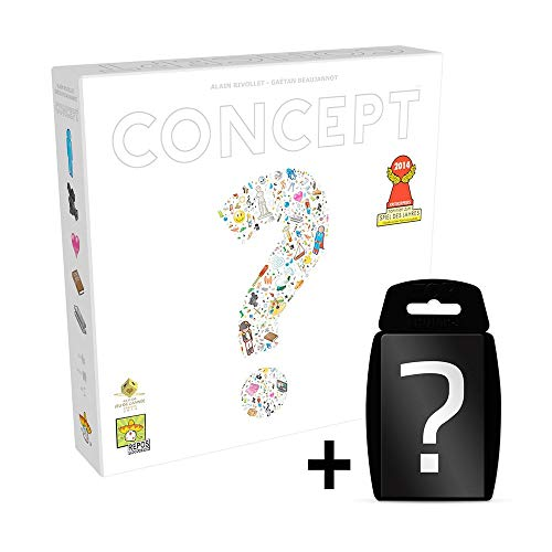 Concept - Brettspiel | DEUTSCH | Set inkl. Kartenspiel