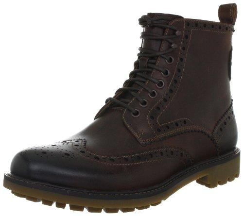 Clarks Herren Montacute Lord Boots, Braun (Dark Brown Lea), 40 EU