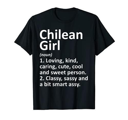 CHILE CHILE - Regalo divertido para el país y las raíces del descenso Camiseta