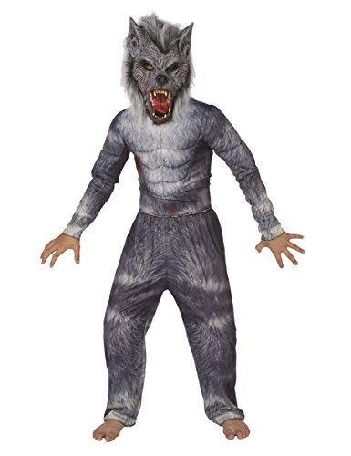 Generique - Disfraz de Hombre Lobo niño 5-7 años