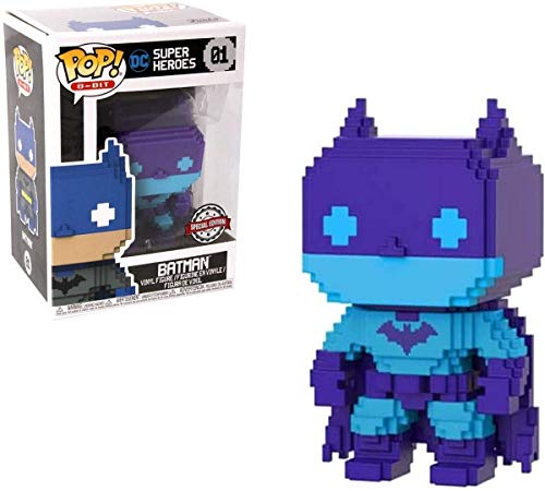 Entertainment Earth Batman Video Game Deco 8-Bit Pop! Figure - EE Excl