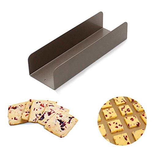 Suszian Keksformen, Antihaft-Kuchenform Keks-Kuchen-Brotform Kohlenstoffstahl U-förmige Cranberry-Keks-Schablonen-Werkzeuge für Kinder Erwachsene Backen zu Hause