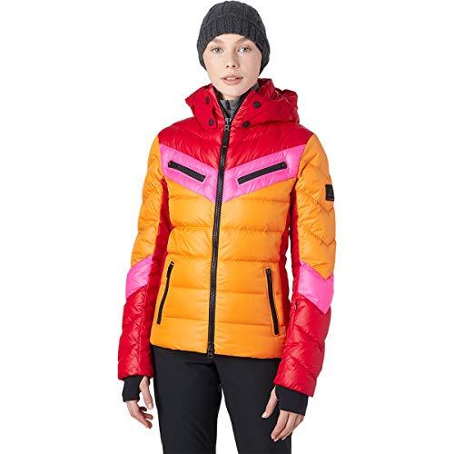 Bogner Fire + Ice Ladies Farina -D Bunt, Damen Down Jacket, Gréisst 36 - Faarf Multicolor