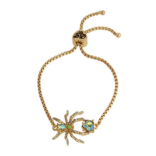 Betsey Johnson Spider Slider Bracelet