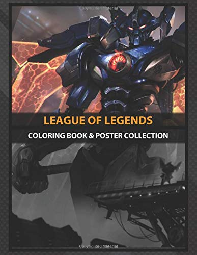 Coloring Book & Poster Collection: League Of Legends Mecha Aatrox League Of Legends Anime & Manga