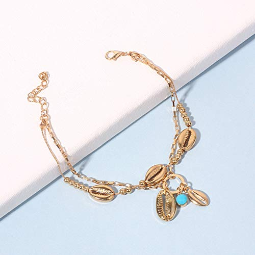 Necklace The New European And American Alloy Shell Pendant AnkletWind Ladies Creative Versatile Land Goodssimple And Not Fading Necklace Holder