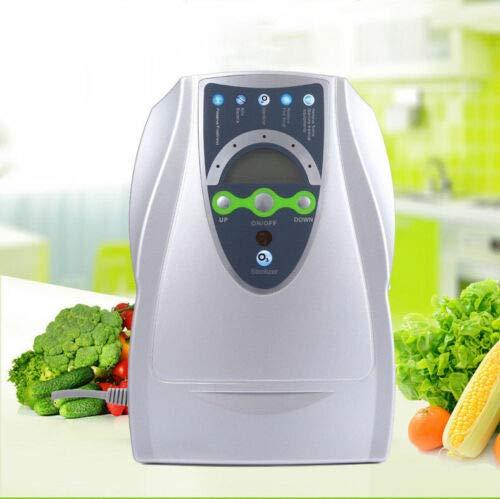 Generador de ozono de 500 mg/h con temporizador, purificador de aire, desinfectante, generador de ozono, también para la esterilización de verduras y frutas