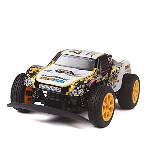 1:16 All Terrain RC Cars, 12km / H Buggy de Alta Velocidad 4WD Radio controlado Monster Truck 4x4 Impermeable Desierto Desierto vehículo Juguetes educativos para Adultos y niños niños aficiones