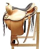 Western Sillín Austin Eco Piel de búfalo de alta calidad nuevo Talla:17 pulgadas