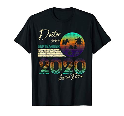 Doctorate Degree Phd Doctor Since September 2020 Graduation T-Shirt