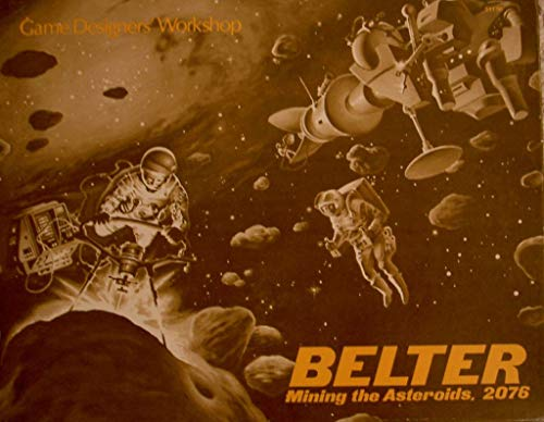 GDW: Belter, Mining The Asteroids 2076, Boardgame