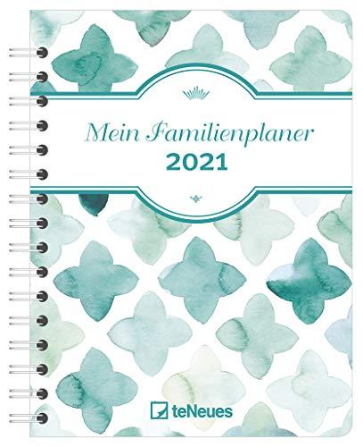 Mein Familienplaner 2021 - Diary - Buchkalender - Taschenkalender - 17,5x23,1: Diary