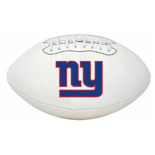 NFL Signature Series Full Regulation-Size Football, New York Giants
