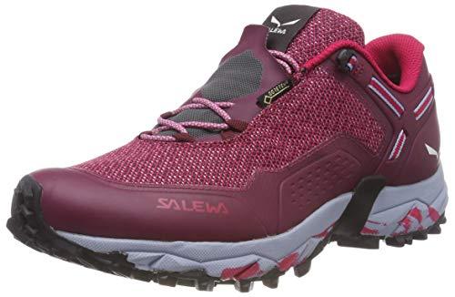 Salewa MS Wildfire, Chaussures de trekking et de randonnée - Femme - Rouge (Red Plum/Rose Red) - 38 EU
