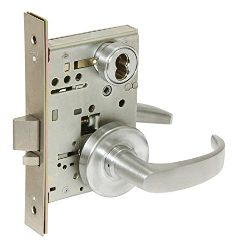 BEST Access Systems 45H7R14R626 45H Classroom Mortise Lock, Steel