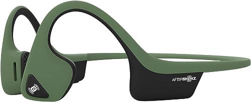 2021 AfterShokz Air Open Ear Wireless Bone Conduction Headphones, Forest online online sale Green, AS650FG sale