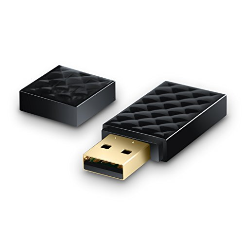 CSL - WLAN Dual Band Stick - 433 MBit s - 2,4 GHz 5 GHz - bis zu 433 MBit s WLAN-Standards 802.11ac - Wi-Fi Protected Setup WPS - Wi-Fi Direct - SoftAP - Infrastruktur-Netz - Status-LED - Windows