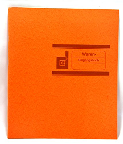 König & Ebhardt 8610671 Geschäftsbuch / Wareneingangsbuch (27,7 x 29,7cm KL)