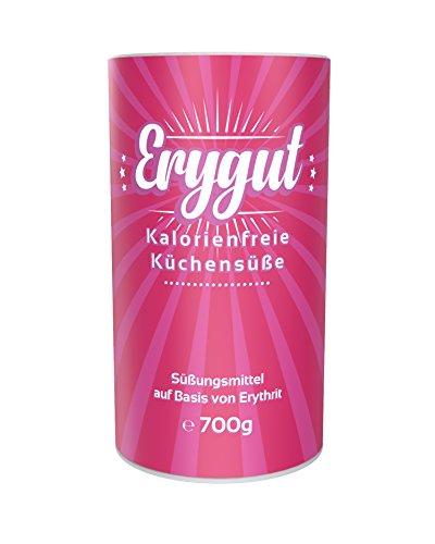 Erygut Puder 700g | Kalorienfreier Puderzuckerersatz aus Erythrit | Süßungsmittel zum Süßen von...