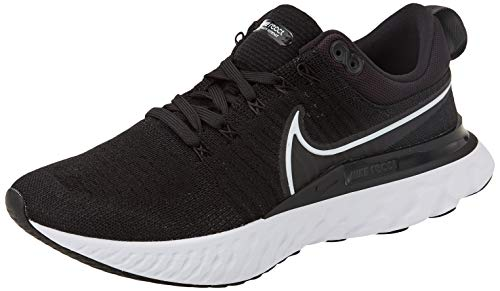 Nike React Infinity Run FK 2, Zapatillas para Correr Hombre, Black White Iron Grey, 38.5 EU