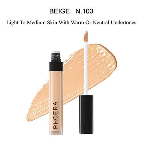 Allbesta Crème Pro Correcteur Cernes Profond Visage Base Correcteur de Couleur Base de Maquillage Contour Liquide