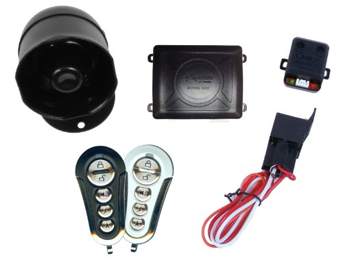 Excalibur EXCAL500+ Vehicle Alarm System with Immobilizer Mode and Keyless Entry