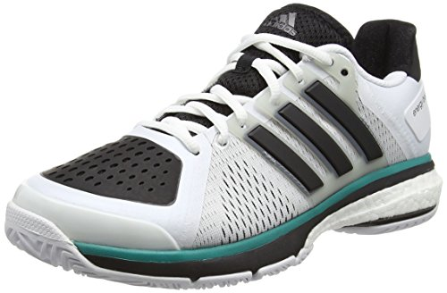 adidas adidas Unisex-Erwachsene Tennis Energy Boost Tennisschuhe, Weiß (FTWR White/Core Black/Clear Onix), 42 EU