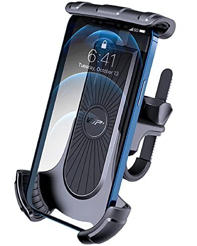 VUP Handyhalterung Fahrrad, 360°verstellbare Fahrrad Handyhalterung, universelle Rennrad Handyhalterung für Allen 4-6.7 Zoll Handy, Full Screen freundliche Handyhalter für Rennrad Kinderwagen MTB