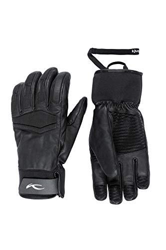 KJUS Men Performance Gloves Schwarz, Herren Fingerhandschuh, Größe 10 - Farbe Black