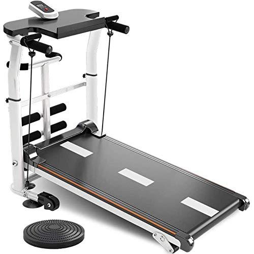 LIANGANAN Cinta de correr plegable profesional para el hogar con carga máxima 150 kg Aeróbico ejercicio plegable caminadora para perder peso y reducir la inmunidad zhuang94