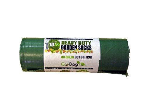 Ecobag Gartensäcke, 100 Liter, 10 Stück