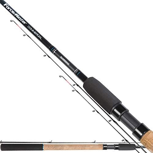 SHIMANO Forcemaster BX Commercial 2.43 m 40 g Feeder Rute Fishing Angeln im Fluss See Meer Teleskopische