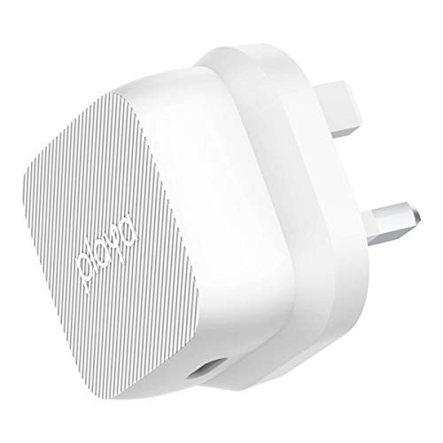 PLAYA USB-C PD Wall Charger 18W (18W USB-C Fast Charging for iPhone 11, 11 Pro, 11 Pro Max, Samsung, Google, iPad Pro, more) Black