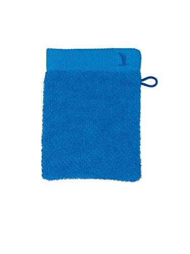 möve New Essential gant de lavage 15 x 20 cm en 100% coton, dark pool