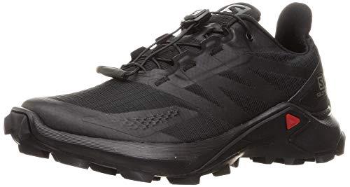 SALOMON Calzado Bajo Supercross Blast, Zapatillas de Trail Running Mujer, Black/Bl, 40 2/3 EU