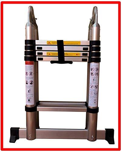 Escalera telescópica 3.2 mtrs. A-Type marca Pro-Steps PSTA32