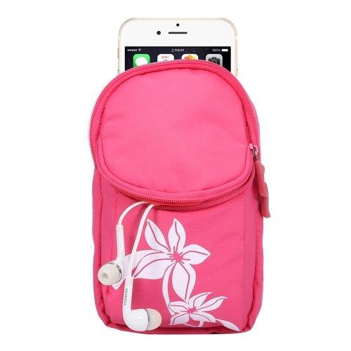 alsatek Nylontasche für Sony Xperia M4Aqua Dual SIM rosa
