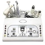 8 en 1 ultrasons vaporisateur sous vide galvanique Machine faciale masseur équipement de beauté du visage, Points Noirs,Ultrasons Vibration Machine de Massage