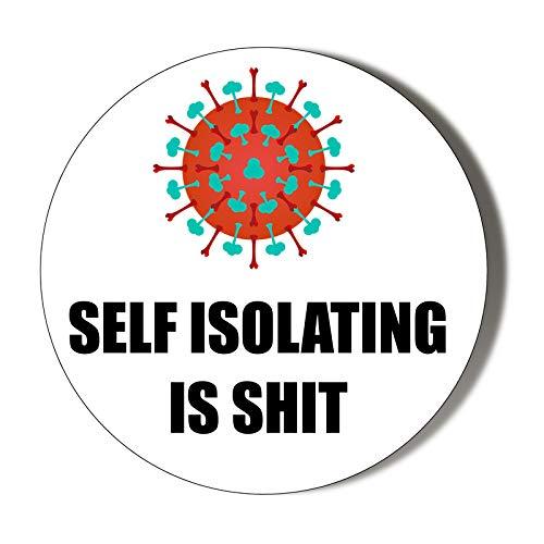 Auto-isolante è – sfondo bianco – apriscatole magnetiche da 58 mm
