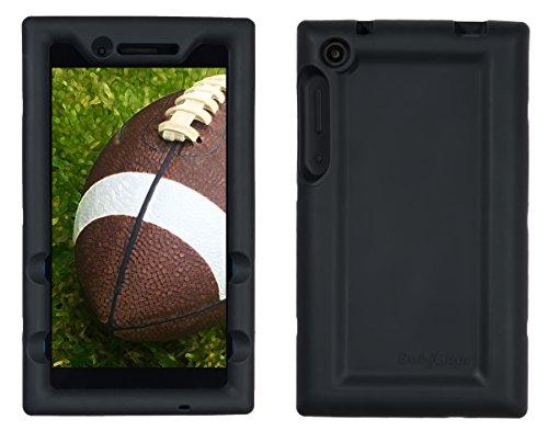 Bobj for Lenovo Tab 3 7 inch Models TB3-730F, TB3-730X (Does not fit Lenovo TB3-710F or TB3-710I) - BobjGear Protective Tablet Cover (Bold Black)